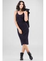 Платье «Клара» темно-синего цвета