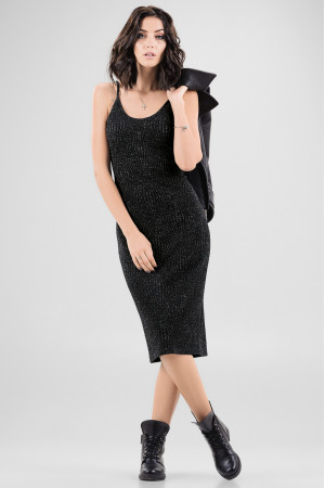 Платье «Клара» черного цвета
