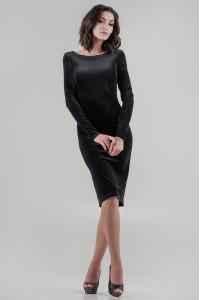 Платье «Зуя» черного цвета