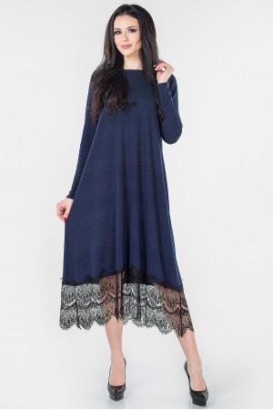 Платье «Флорида» синего цвета
