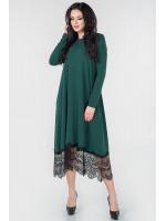 Платье «Флорида» зеленого цвета