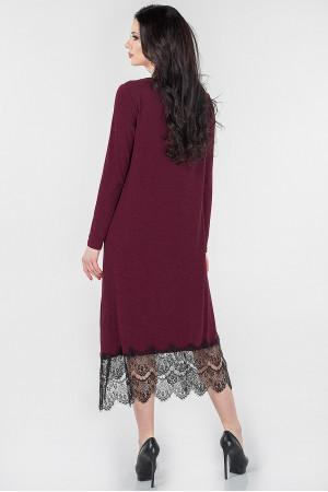 Сукня «Флорида» бордового кольору