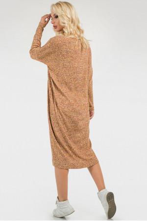 Платье «Лира» цвета горчицы