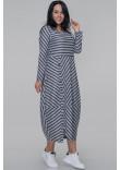 Сукня «Ларста» сіро-синього кольору