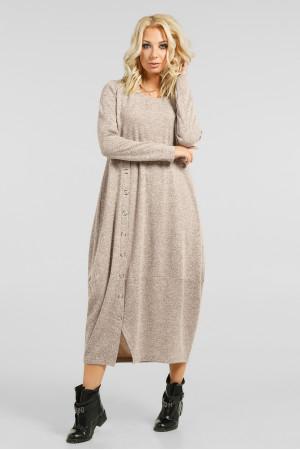 Платье «Ларста» бежевого цвета