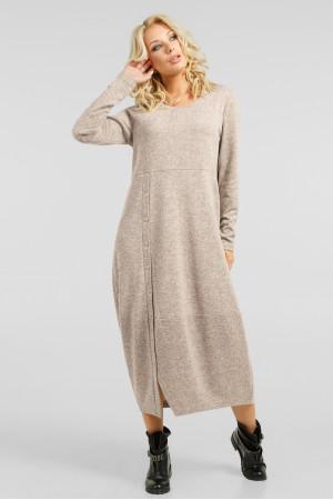 Сукня «Ларста» бежевого кольору