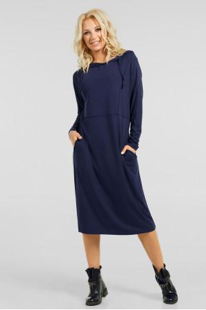 Платье «Тидоро» синего цвета