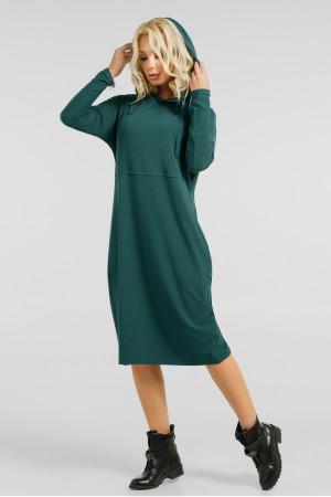 Платье «Тидоро» зеленого цвета