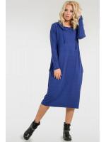 Сукня «Тідоро» волошкового кольору