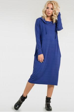 Платье «Тидоро» василькового цвета
