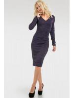 Сукня «Норі» темно-синього кольору
