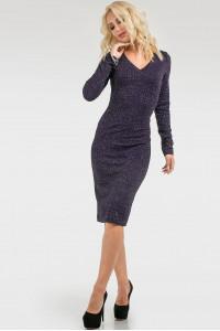 Платье «Нори» темно-синего цвета