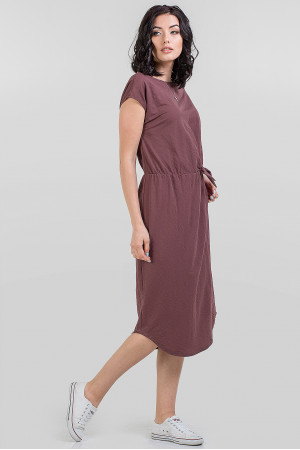Платье «Гайя» цвета какао