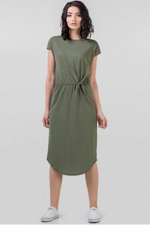 Платье «Гайя» цвета хаки
