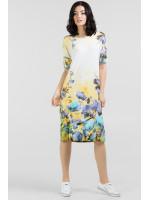 Сукня «Арбол» з синіми квітами