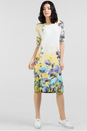 Сукня «Арбол» з синіми квітами – купити у Києві 8e652c5dbb11a