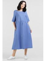Платье «Римма» голубого цвета