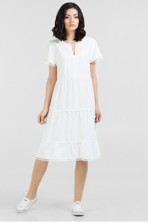 Сукня «Еол» молочного кольору