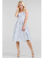 Сукня «Екві» біла з синім