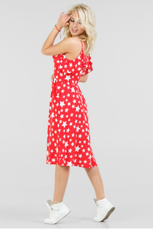 Сукня «Каміса» червоного кольору