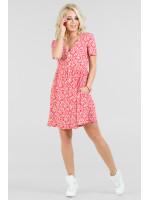 Платье «Синди» красного цвета