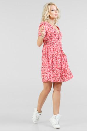 Сукня «Синді» червоного кольору