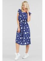 Платье «Венди» синего цвета