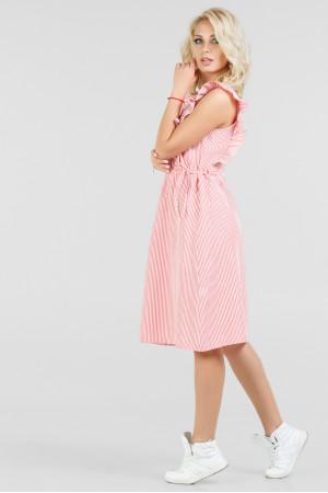Сукня «Венді» червона з білим