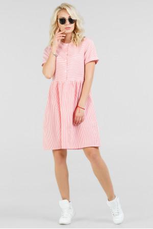 Сукня «Поллі» червона з білим