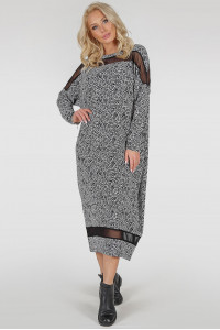 Сукня «Бігольд» дрібний принт