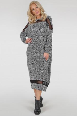 Платье «Бигольд» мелкий принт