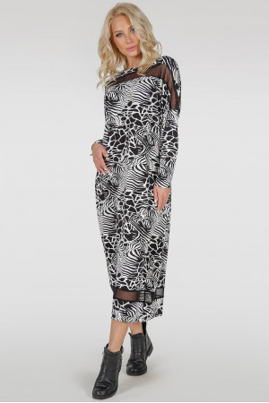 Платье «Бигольд» звериный принт