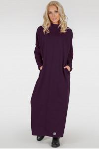 Сукня «Равена-лайт» кольору марсала