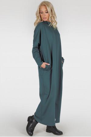 Платье «Равена-лайт» цвета морской волны