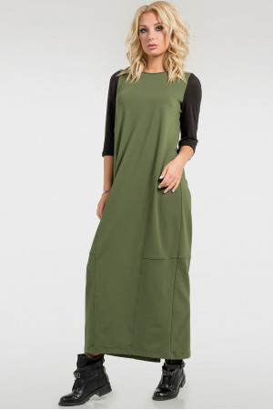 Сукня «Муран» кольору хакі