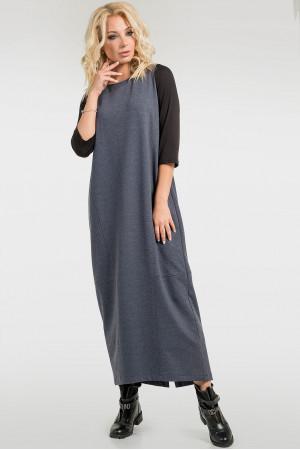 Платье «Муран» цвета джинс