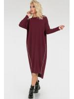 Платье «Морган» бордового цвета
