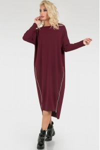 Сукня «Морган» бордового кольору