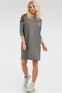 Сукня «Клерис» темно-сірого кольору