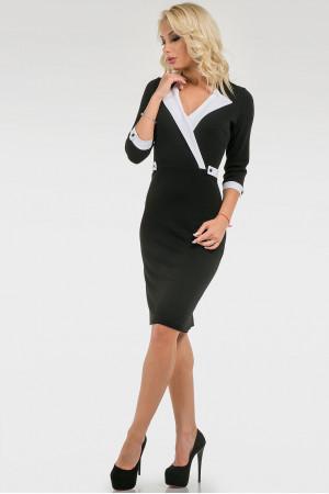 Платье «Робин» черного цвета