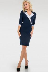 Сукня «Робін» темно-синього кольору
