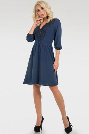 Сукня «Алія» синього кольору