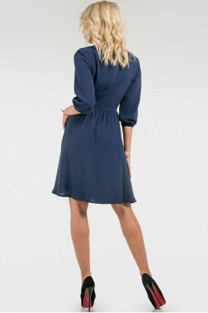 Платье «Алия» синего цвета
