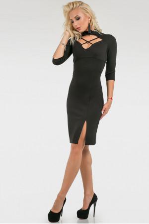 Платье «Бьянка» черного цвета