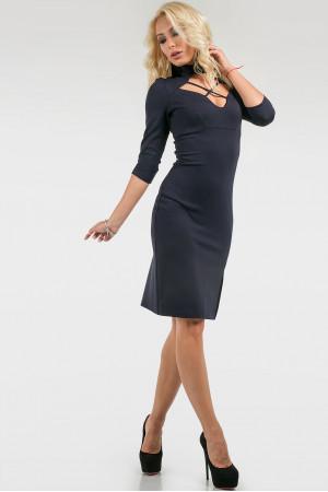Сукня «Б'янка» темно-синього кольору