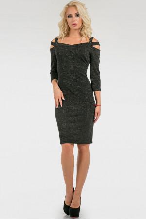 Платье «Весте» черного цвета