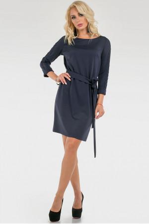 Платье «Арлис» темно-синего цвета
