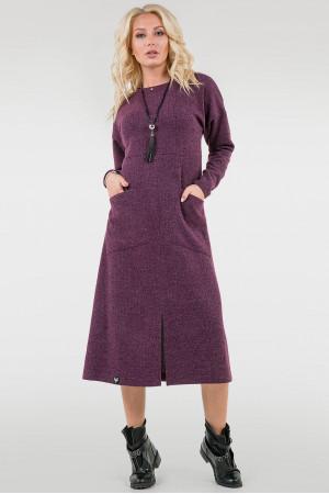 Платье «Актель» фиолетового цвета