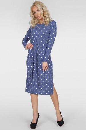 Сукня «Владлена-весна» кольору джинс