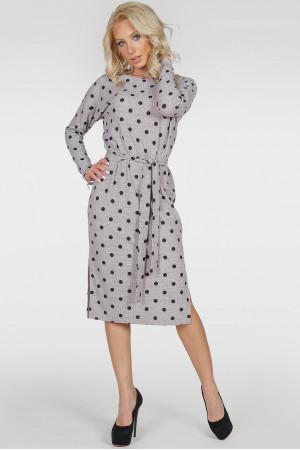 Сукня «Владлена-весна» сірого кольору